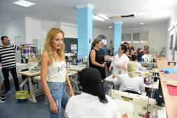 Sandra Ibarra presidenta de la fundación Sandra Ibarra conoce el trabajo de las mujeres