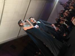 María Reyes y Antonio Espigares presentaron la Gala