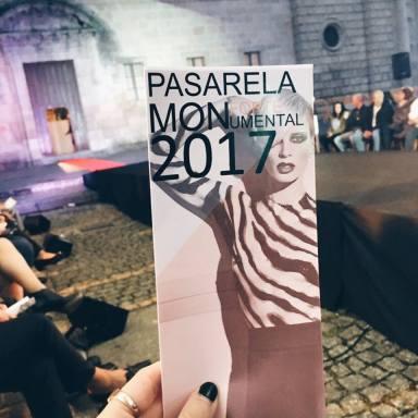 Pasarela Monforte Monumental 2017