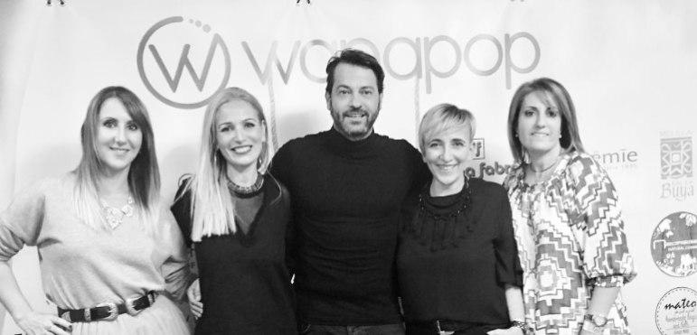 Sergio Gallardo juntto a las influencers Rosa Flores, Isabel Aguilera y María Ontova