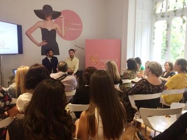 Daniel Rabaneda junto a Sergio Gallardo hablando del futuro de la indumentaria.