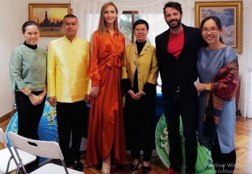 Rueda de Prensa en La Real Embajada de Tailandia