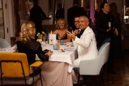 Nuestros elegantes invitados, solidarios y dispuestos a trabajar las sinergias con Lal La Buya. GRACIAS